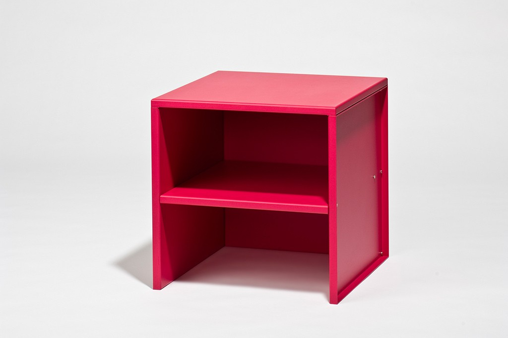 Donald Judd: Hocker Nr. 5, 1984