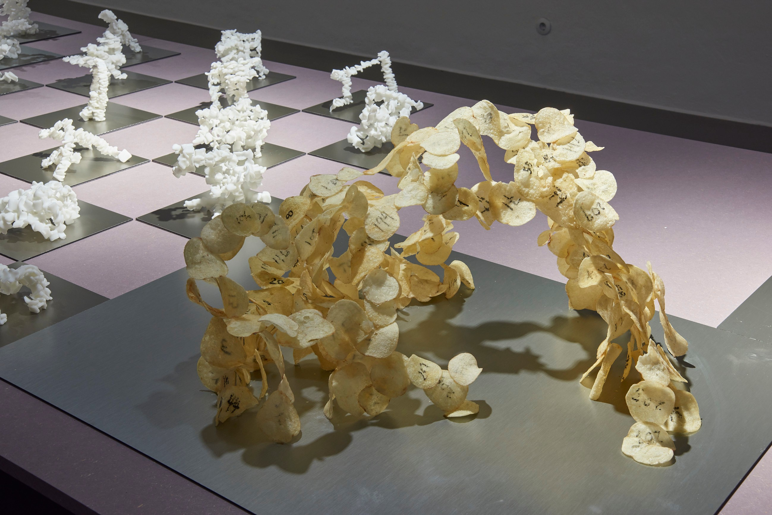 <BODY><div>MAK Exhibition View, 2020</div><div>CREATIVE CLIMATE CARE </div><div>Chien-hua Huang. Reform Standard</div><div>in the front: Potato chips model (Process model)</div><div>MAK GALLERY</div><div>© MAK/Georg Mayer</div></BODY>