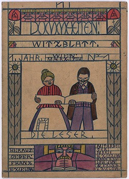 Dummheiten [Fooleries], joke book