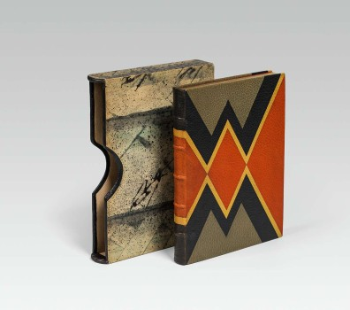 Josef Hoffmann, Book Cover with Original Slipcase, ca. 1921