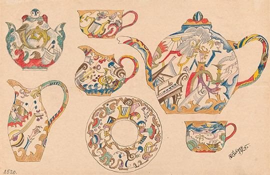 Design for a tea service