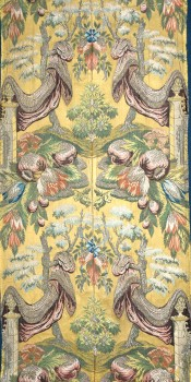 "Panel of ""STYLE REVEL"" fabric"