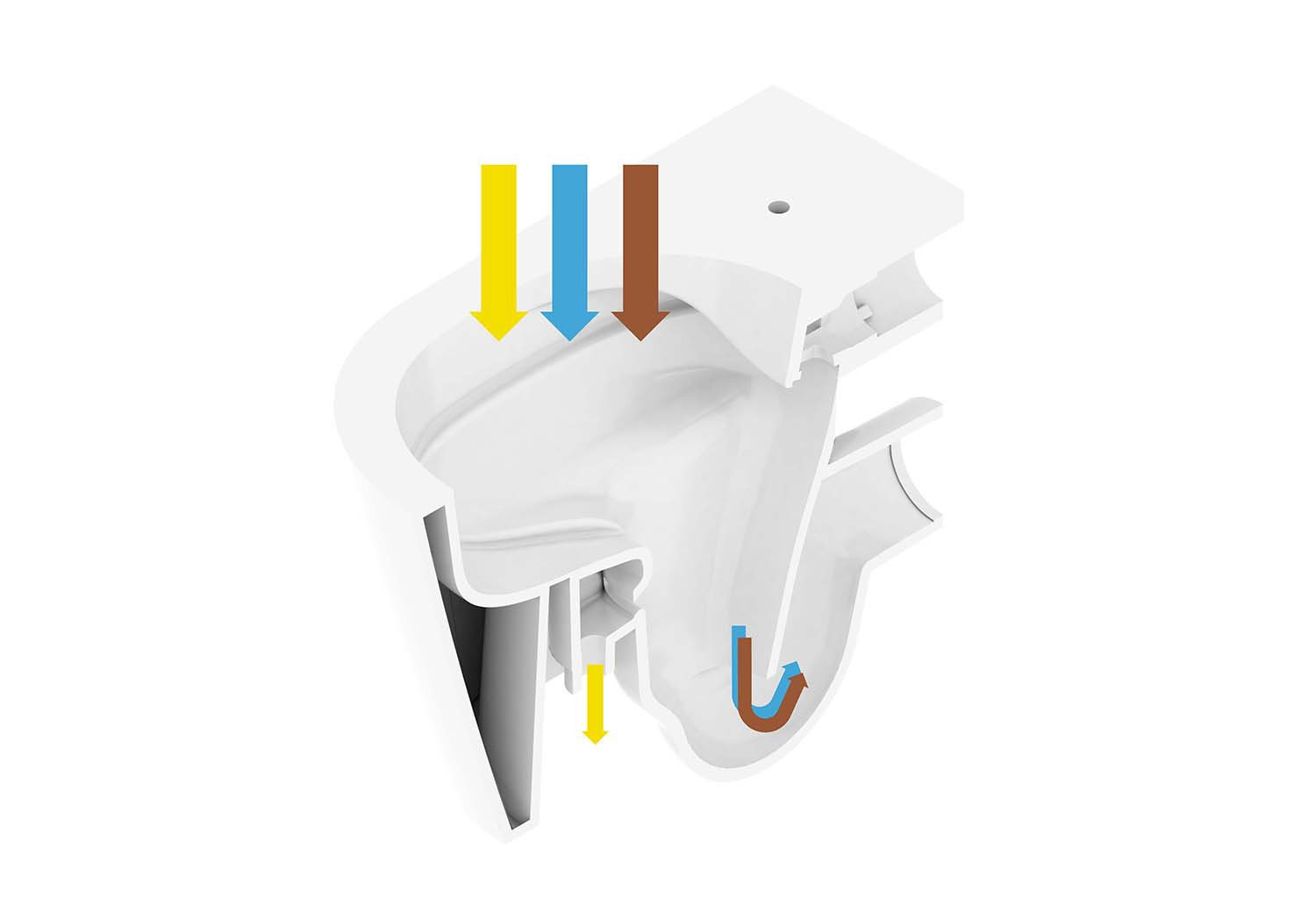 <BODY>EOOS, <em>Urine Trap</em> (Schematics, section of flush toilet), 2019<br />© EOOS/grafisches Büro</BODY>