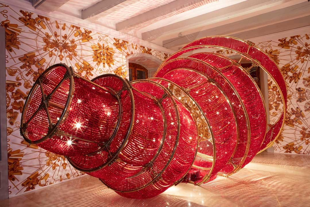 <BODY>Ai Weiwei, <em>Descending Light with A Missing Circle</em>, 2017<br />© Ai Weiwei</BODY>