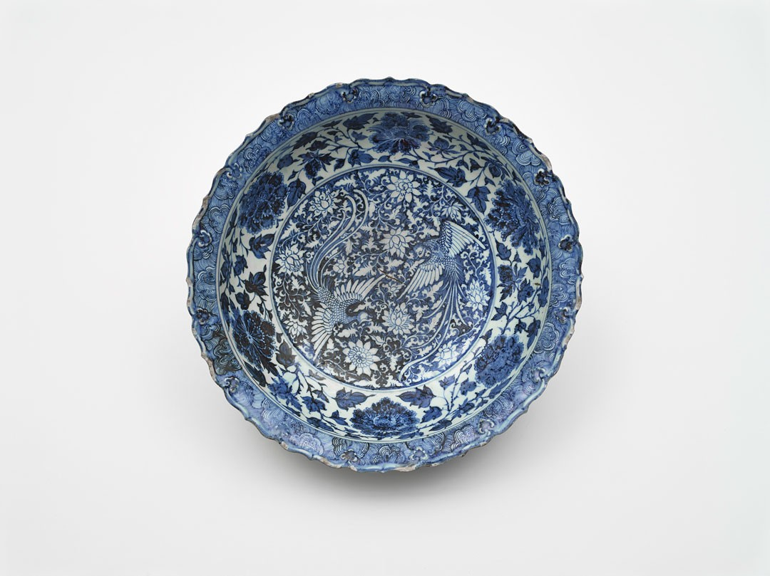 <BODY><div>Dish, China, Yuan dynasty (1271–1368), mid-14th c.</div><div>Porcelain with painting in cobalt blue under the glaze</div><div>© MAK/Georg Mayer</div><div> </div></BODY>