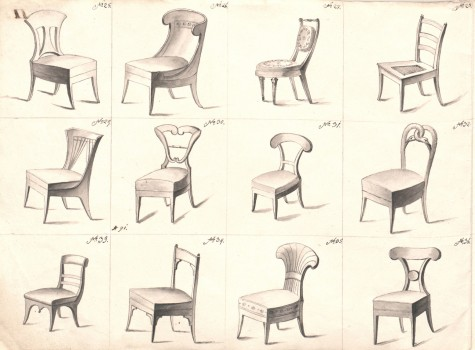 Joseph Ulrich Danhauser: CHAIRS CATALOGUE