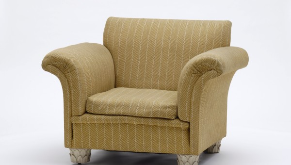 Eduard Josef Wimmer-Wisgrill: Armchair from a Set of Bedroom and Dressing Room Furniture for August and Serena Lederer