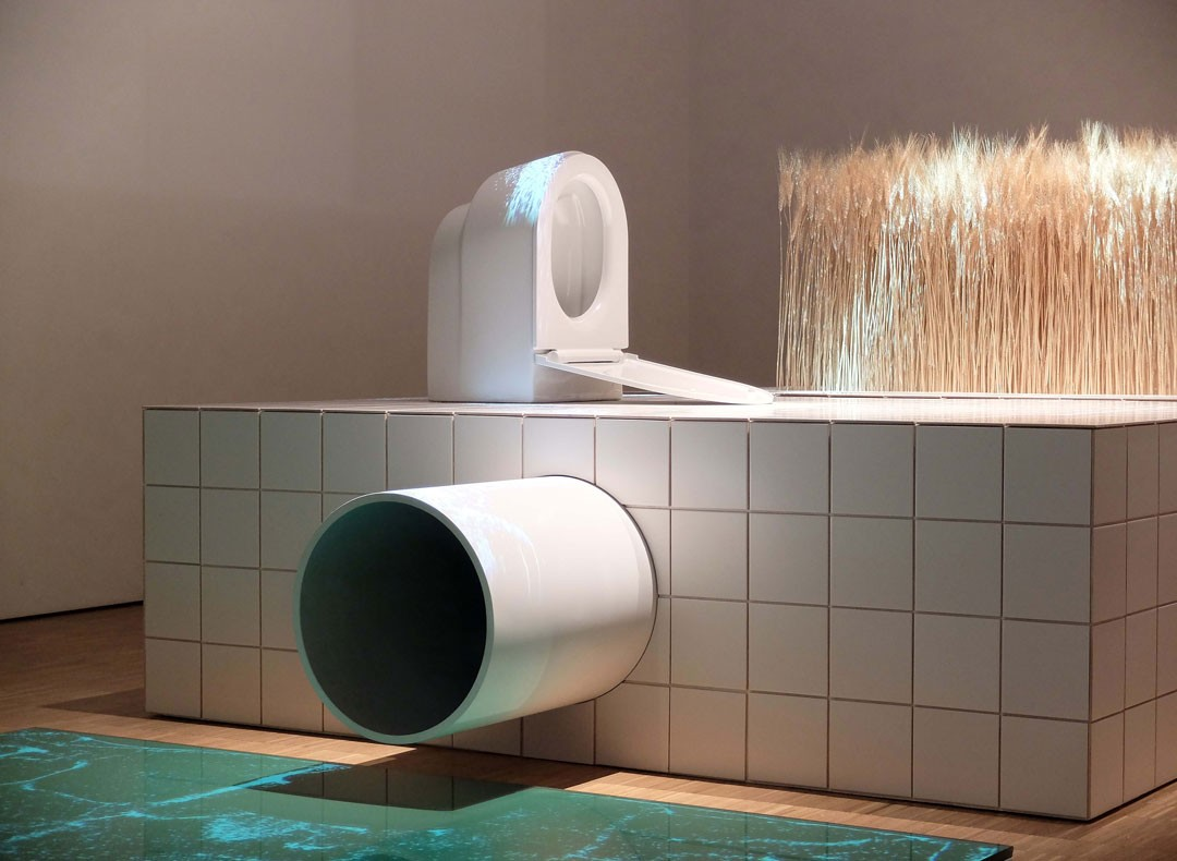 <BODY>Installation view of the Official Austrian Contribution <em>CIRCULAR FLOWS. The Toilet Revolution!</em><br />An installation by EOOS, commissioned and curated by the MAK – Museum of Applied Arts, Vienna, XXII Triennale di Milano 2019<br />© EOOS</BODY>