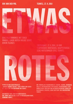 Etwas Rotes [Something red]