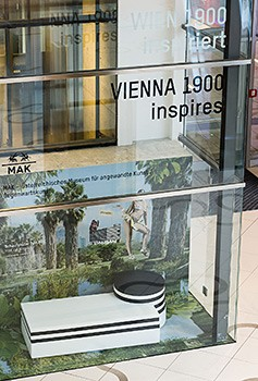 MAK on display in Wien Mitte - The Mall