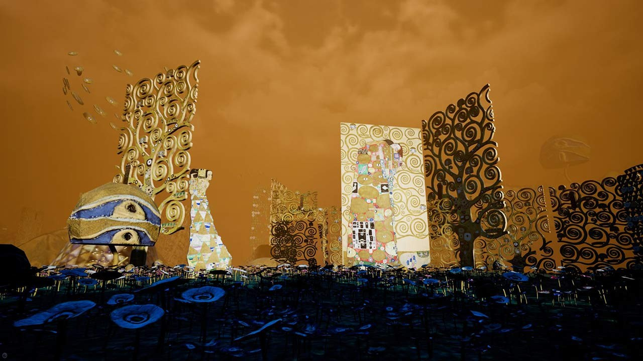 <BODY>Still from the Director's Cut of <em>KLIMT'S MAGIC GARDEN</em> © Frederick Baker</BODY>