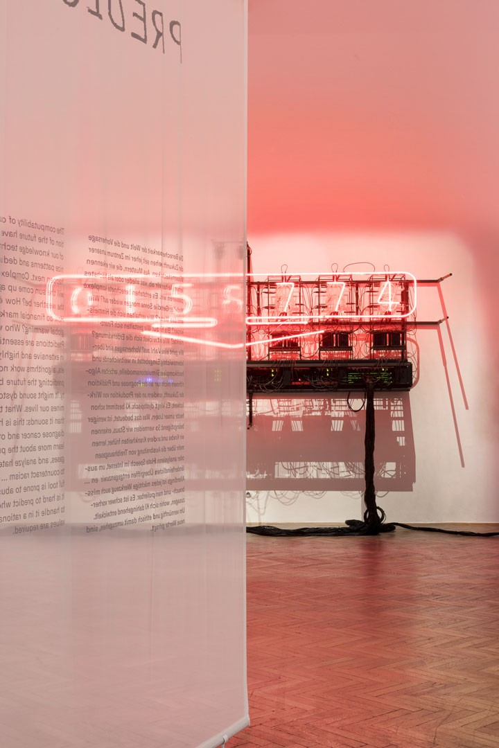 <BODY>Exhibition View<br />UNCANNY VALUES: Artificial Intelligence & You<br />Rachel Ara, This Much I'm Worth (The self-evaluating artwork), 2017<br />MAK-Exhibition Hall<br />© Aslan Kudrnofsky/MAK<br /></BODY>