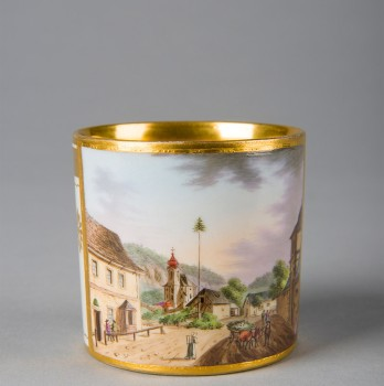 Cup with Saucer, Vienna, ca. 1808