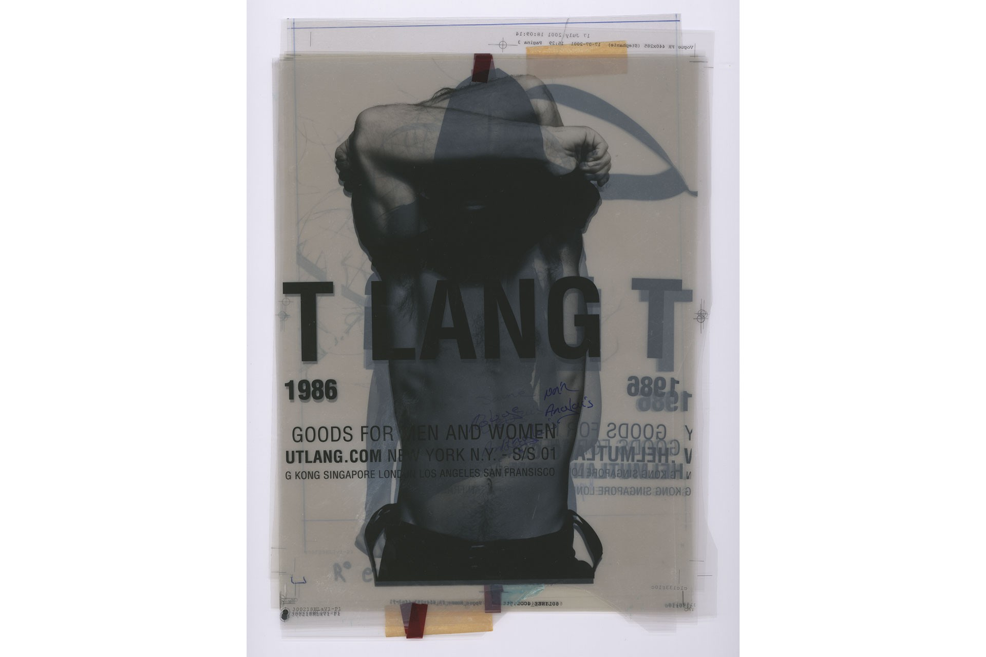 <BODY>Helmut Lang, Excerpts der Selective Memory Series, Special Edit, 2020<br />© HL-ART</BODY>