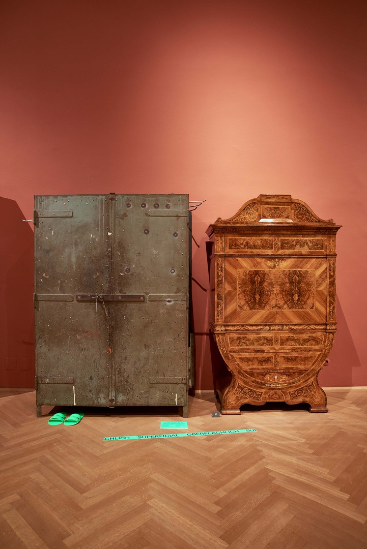 <BODY><div>MAK Exhibition View, 2020</div><div>BOLD AND FREE! The Invasion of Hidden Objects</div><div>MAK Permanent Collection Empire Style Biedermeier</div><div>Intervention: superficial</div><div>Cabinet from the Factory of Glanzstoff Austria, St. Pölten, 1920s</div><div>© MAK/Georg Mayer</div><div> </div></BODY>