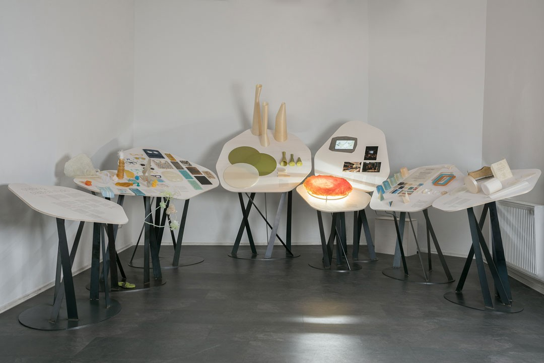 <BODY>Exhibition view HUMAN BY DESIGN with projects by the Slovakian designer Vlasta Kubušová, Slovak Design Center, 2019<br />© Petra Rjabinin</BODY>