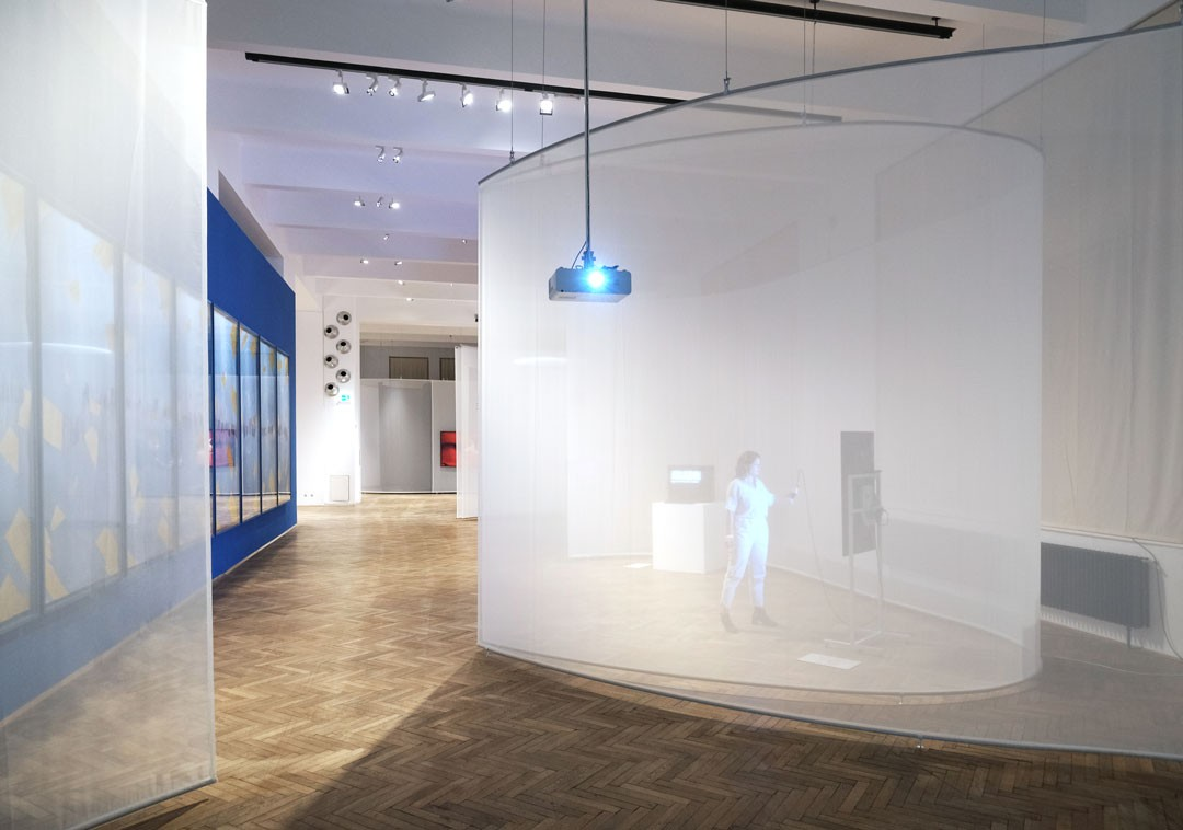 <BODY>Exhibition View<br /><em>UNCANNY VALUES: Artificial Intelligence & You</em><br />MAK-Exhibition Hall<br />© Some Place Studio</BODY>