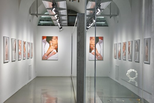 Exhibition view, retrospective Anna Heindl
