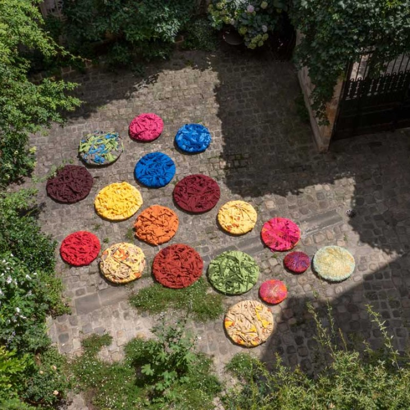 Sheila Hicks, Constellation, 2020 © Christobal Zanartu