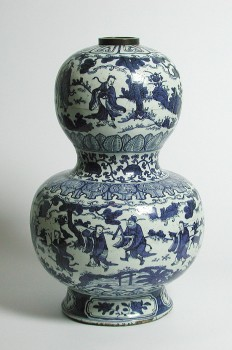 VASE IN DOUBLE-GOURD FORM